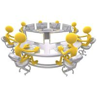Free 3D Concept Image: Computer Workgroup Team...