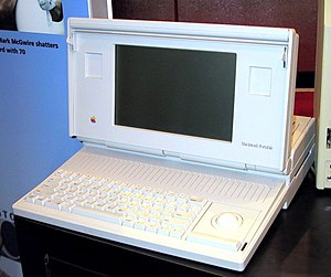 The Macintosh Portable was Apple's first &quot...