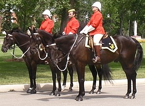 English: Royal Canadian Mounted Police in Regi...