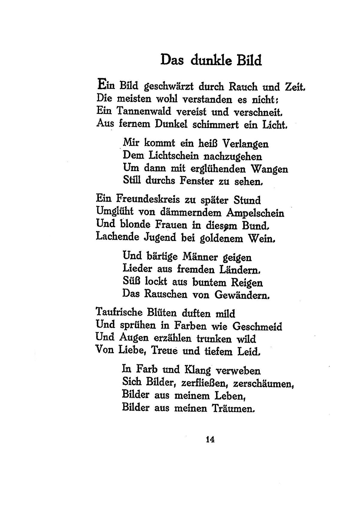 Ringelnatz Geburtstagsgedicht Das Gedicht An Den Vater Zum