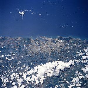 San Juan from space