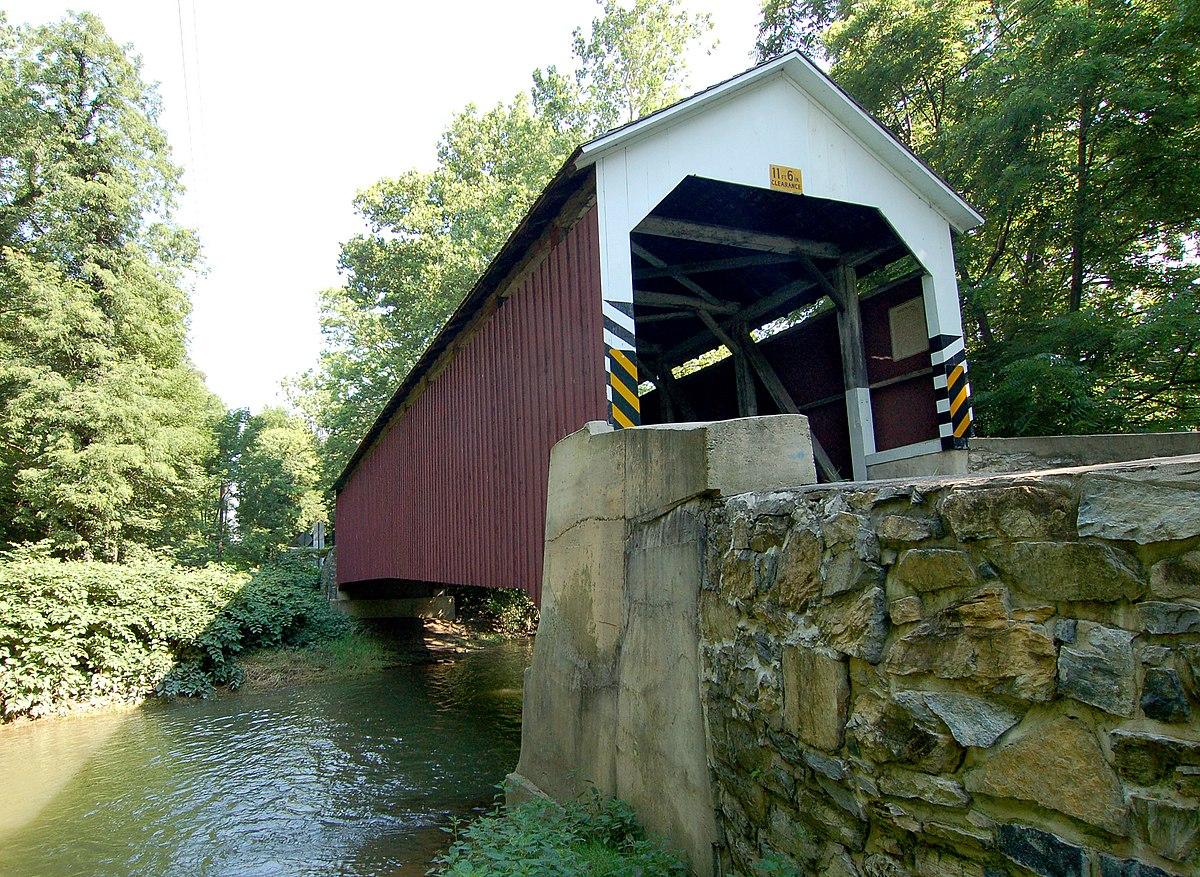 Siegrist S Mill Covered Bridge Wikipedia