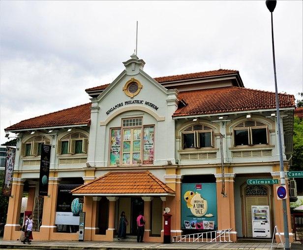 Singapore Philatelic Museum - www.joyofmuseums.com - exterior