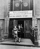 A synagogue on D-Day
