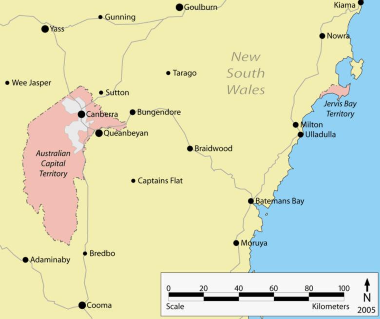 ACT och Jervis Bay