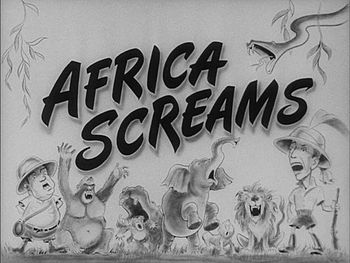Africa Screams was first released in 1949 and ...