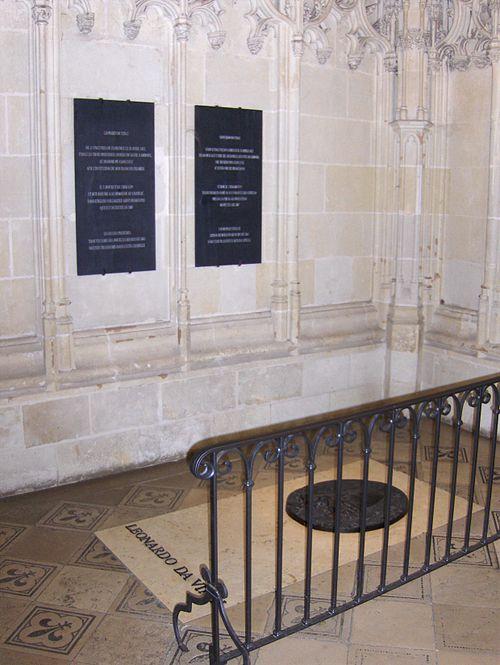Amboise Grave of Leonardo da Vinci