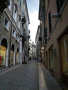 Stradario Di Ancona Wikipedia