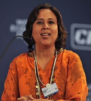 Barkha Dutt, Group Editor, English News, New D...