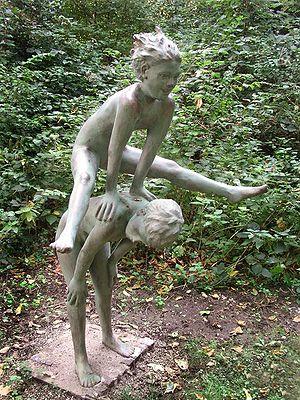 Deutsch: Bremerhaven: Thieles Garten, Skulptur...