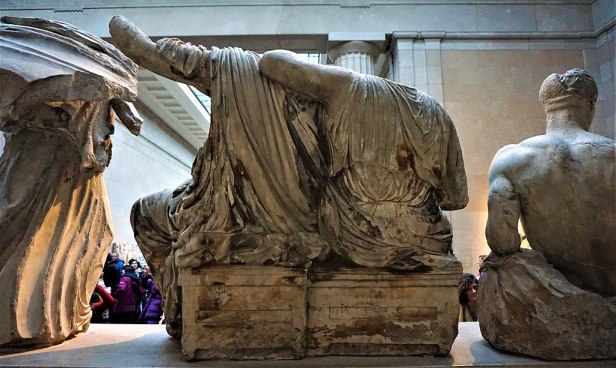 Demeter and Persephone - Pediment Sculptures of the Parthenon - British Museum - Joy of Museums
