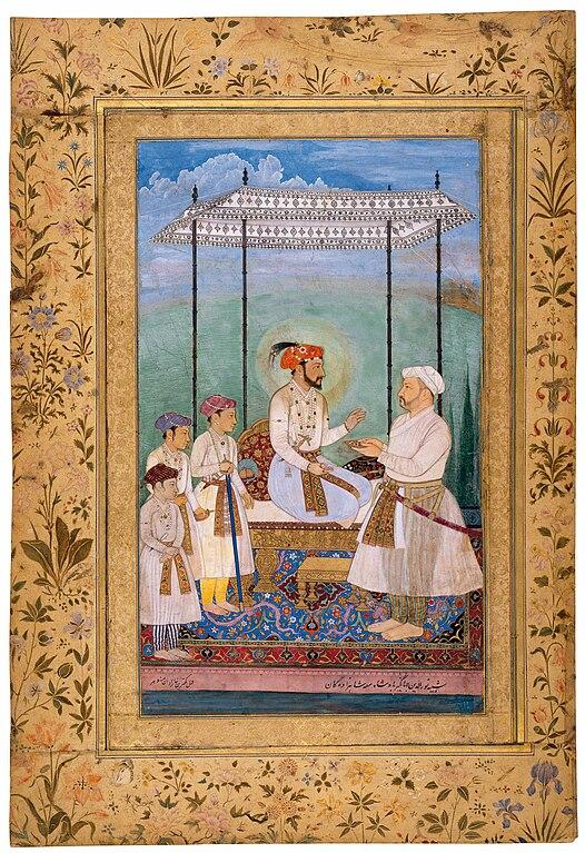 File Emperor Shah Jahan 1628 Jpg Wikimedia Commons