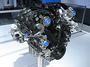 English: 3.5 Ford Ecoboost demo engine.