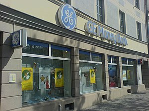 Deutsch: GE Money Bank, Filiale Orleansplatz, ...