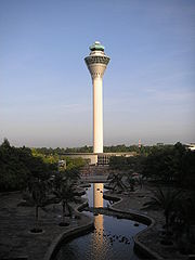 The iconic KLIA Control Tower