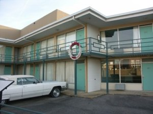 The Lorraine Motel, where King was assassinate...