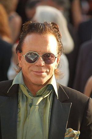 English: Mickey Rourke at the Cannes film festival