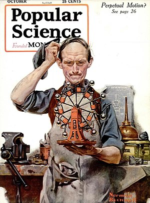 English: Cover of the October 1920 issue of Po...