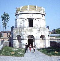 El Mausoleo de Teodorico en Ravena