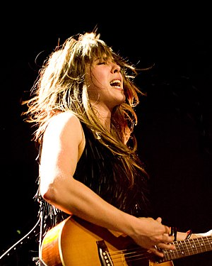 English: Serena Ryder performing at Showbox, S...