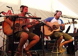 English folk rock duo Turin Brakes