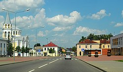 Skyline of Ukmergė