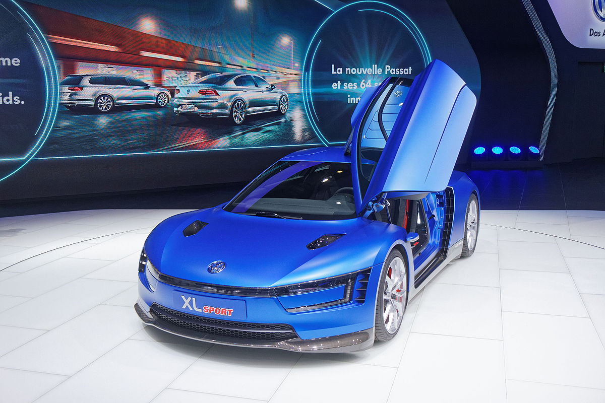 Volkswagen Xl Sport Concept Wikip 233 Dia