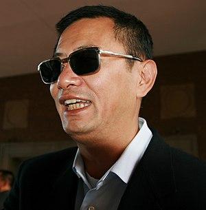 English: Wong Kar-wai / ??? at the TIFF premie...