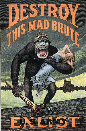 """DESTROY THIS MAD BRUTE - Enlist U.S. Arm..."