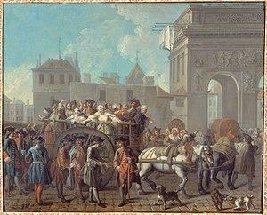 """Étienne Jeaurat (1699–1789). """"Filles de j..."""
