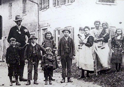 Bündner Schwabenkinder 1907