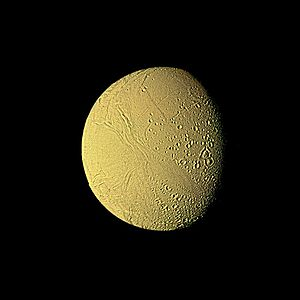 Enceladus - Voyager 2