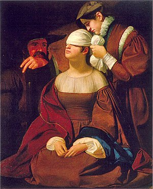 Lady Jane Grey Preparing for Execution, oil by...