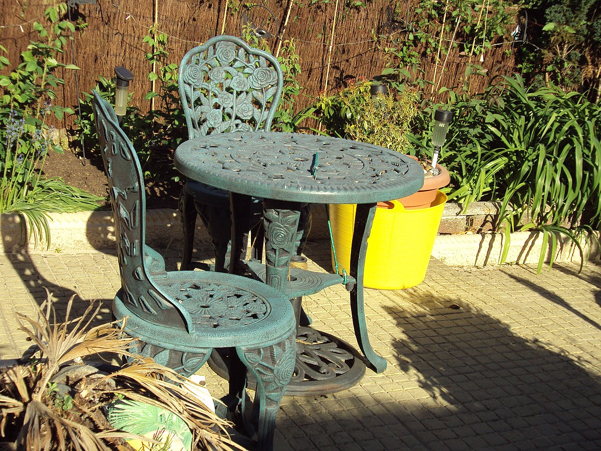 Chairs Small Outside And Table