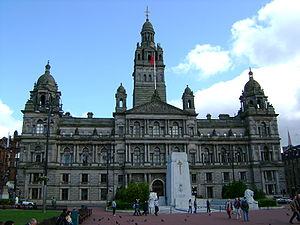 English: Glasgow City Chambers, George Square,...