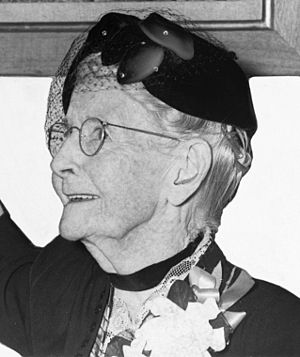 """, cropped from photo of """"Grandma Moses do..."""