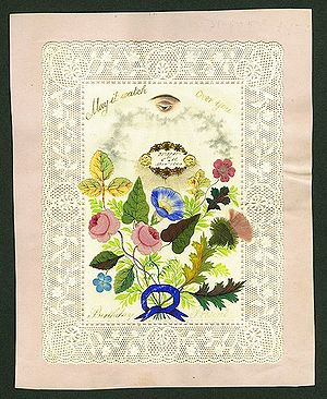 Greeting Card Birthday 1840