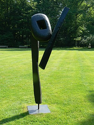 sculpture The Cry (1959) by Isamu Noguchi in K...