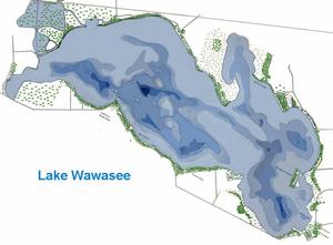 Lake Wawasee History Wikipedia