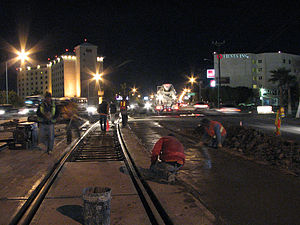 Mexicali at night