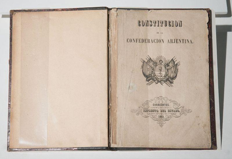 Resultado de imagen para constitucion nacional 1853