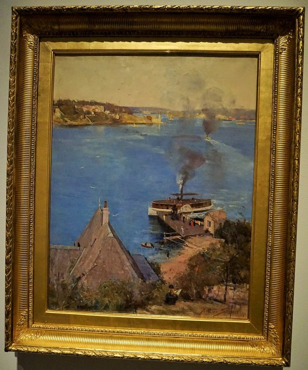 National Gallery of Australia - Joy of Museums - From McMahon's Point - fare one penny