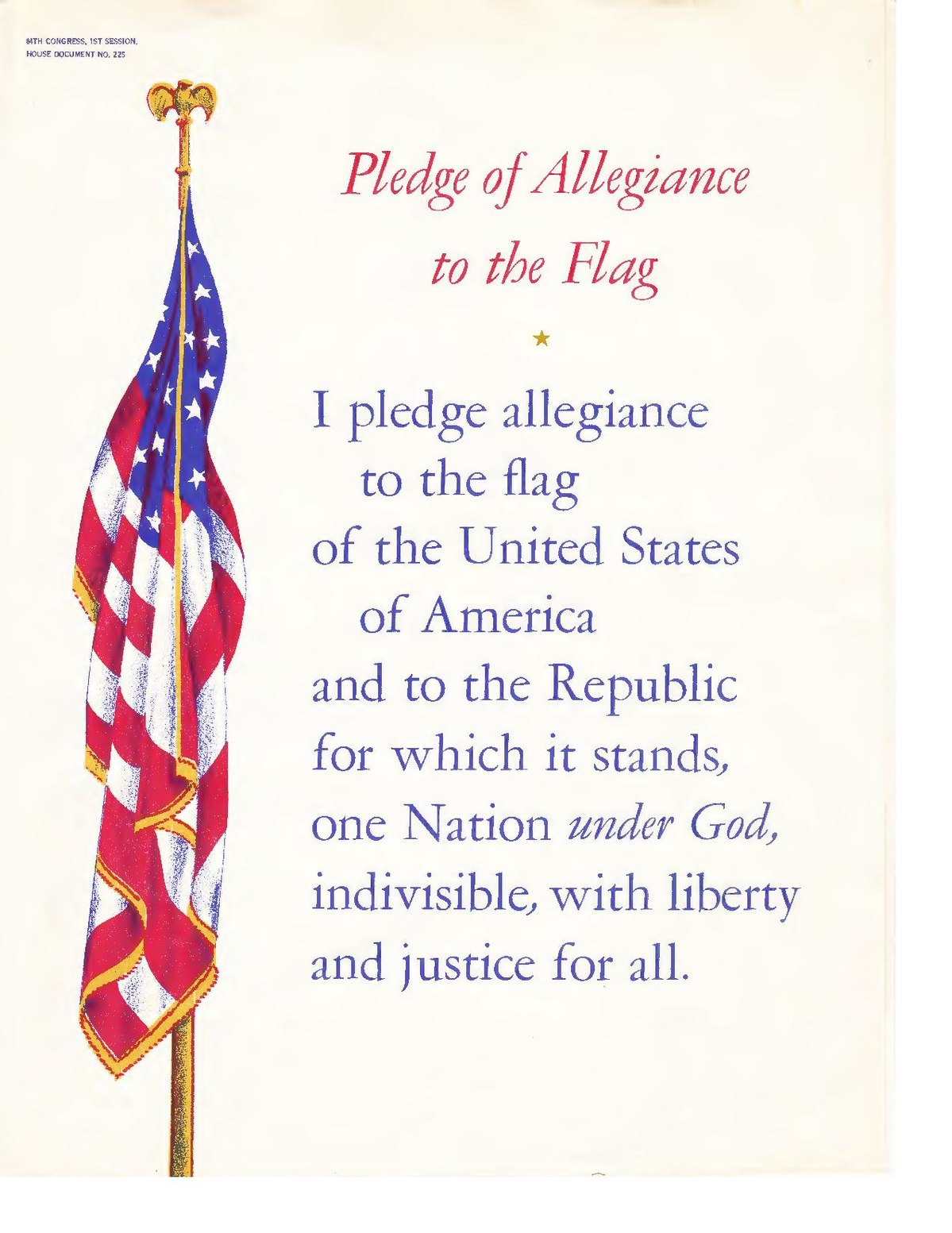 File Pledge Of Allegiance To The Flag By Irving Caesar