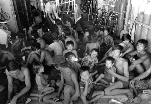 Processed Vietnamese refugees