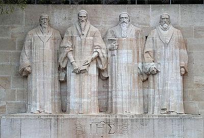 William Farel, John Calvin, Theodore Beza, and John Knox