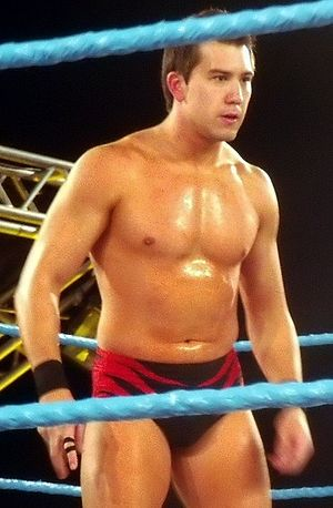 Español: Richie Steamboat luchando en Florida ...