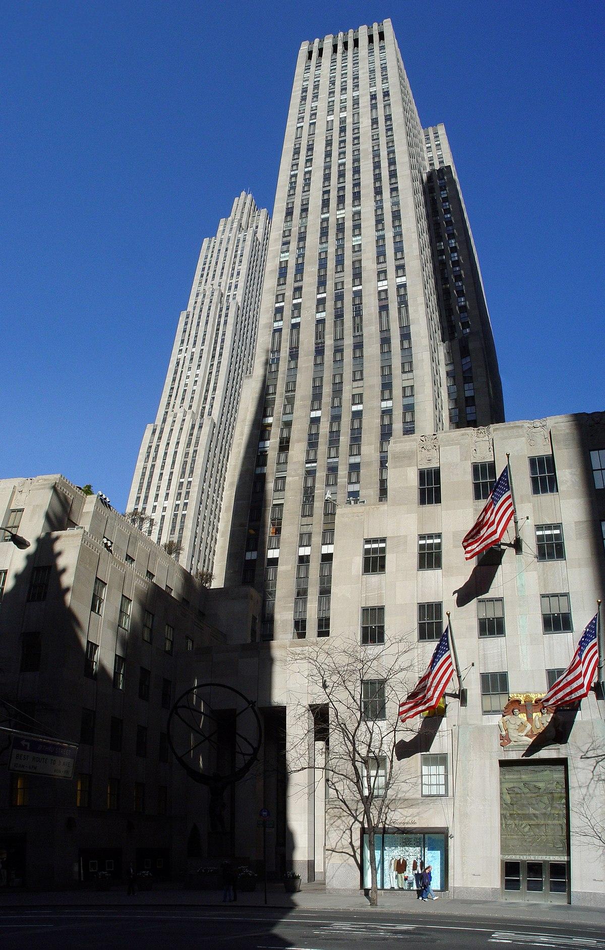 Wikipedia Rockefeller Center