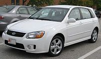 2007 Kia Spectra5 photographed in USA.