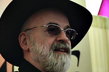 Terry Pratchett auf der Elf Fantasy Fair in de...