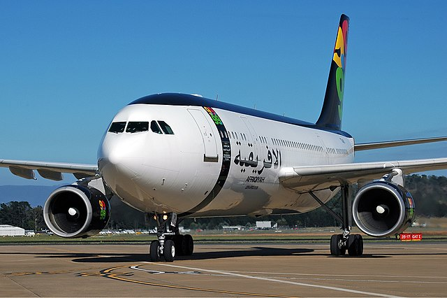 Un A300 de Afriqiyah Airways